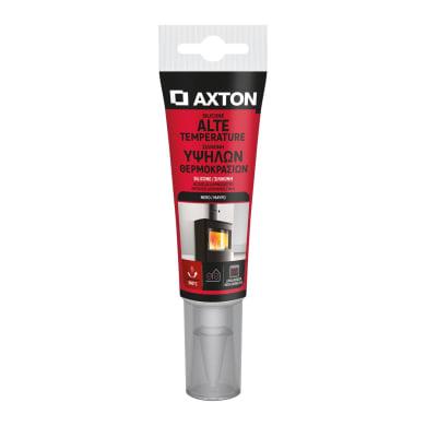 Silicone sigillante AXTON per alte temperature nero 60 ml