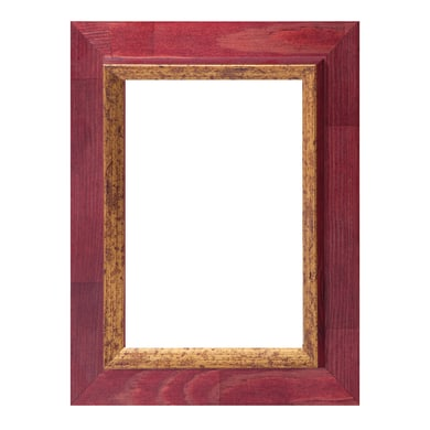 Cornice Firenze mogano per foto da 70x100 cm