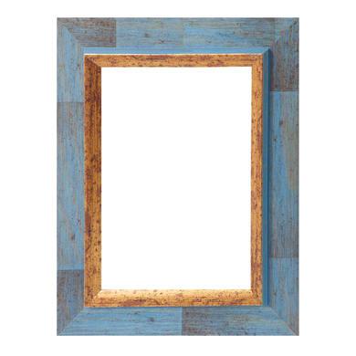Cornice Firenze blu per foto da 70x100 cm