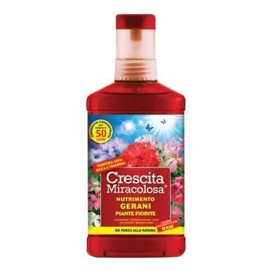 Concime geranio liquido CRESCITA MIRACOLOSA PIANTE FIORITE LIQUIDO