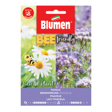 Seme fiore BEE FRIENDLY FACELIA nan20 g