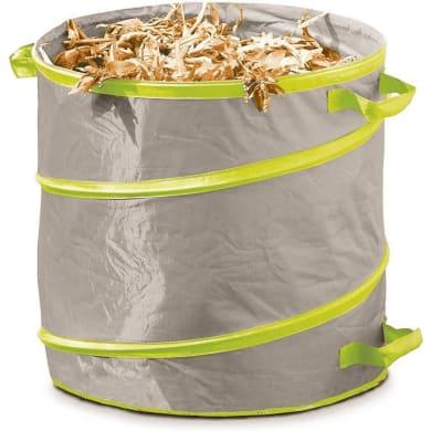 Sacchi spazzatura 166 L beige - verde
