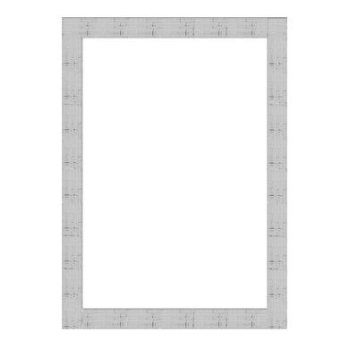 Cornice Bomber argento per foto da 60x90 cm
