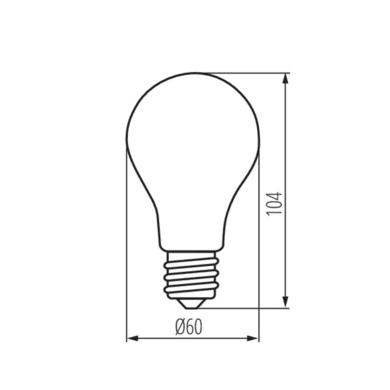 Lampadina E27 goccia variazione dei bianchi 7W = 810LM (equiv 7W) 320°