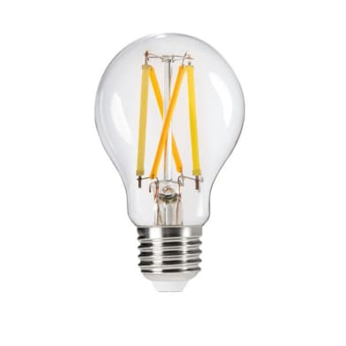 Lampadina LED, E27, Goccia, Trasparente, CCT, 7W=810LM (equiv 60 W), 320°