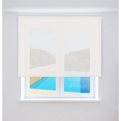 Tenda a rullo Screen VTX 3% bianco 90 x 250 cm