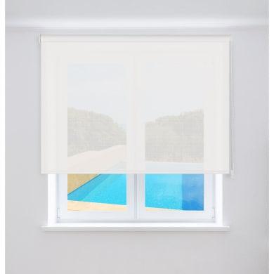 Tenda a rullo Screen VTX 3% bianco 220 x 250 cm
