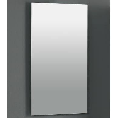 Specchio non luminoso bagno rettangolare a muro L 50 x H 90 cm