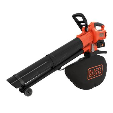 Aspiratore soffiatore trituratore BLACK + DECKER Soffiatore-Aspiratore-Trituratore 36V , 36 V
