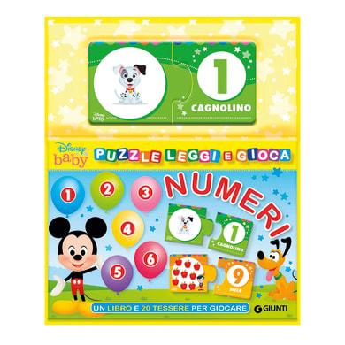 Libro Numeri, puzzle, leggi e gioca Disney