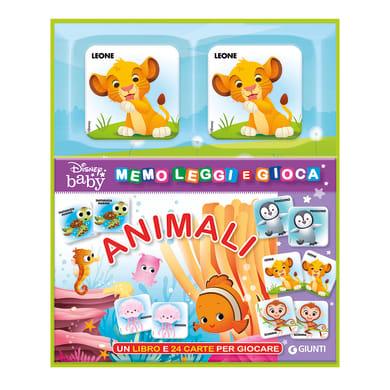 Libro Memo leggi e gioca con gli animali Disney