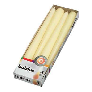 Candela BOLSIUS essenza no  Ø 2.4 cm H 24.5 cm, 4 pezzi