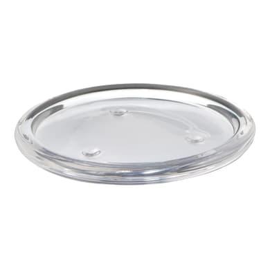 Porta tea light in vetro trasparente BOLSIUS H 1 cm, L 11 x Ø 11 cm