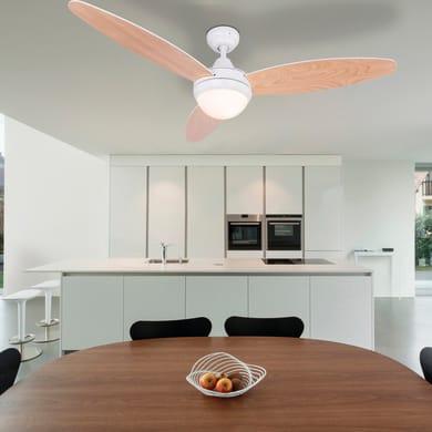 Ventilatore da soffitto Ventilatore Cordula, bianco