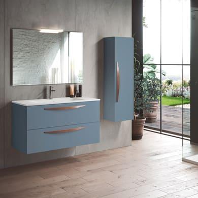 Set mobile da bagno con lavabo Arco avio L 100 cm