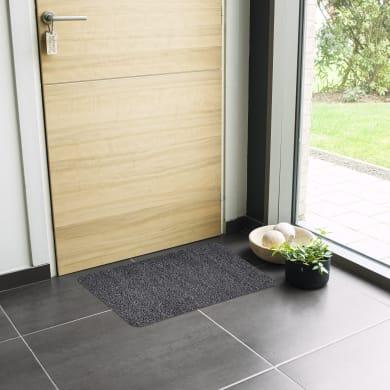 Zerbino Boho in cotone nero 45x75 cm