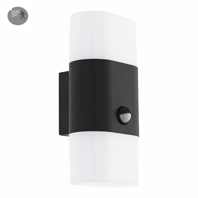 Applique Favria LED integrato con sensore di movimento, in alluminio, antracite, 11W 1300LM IP44 EGLO