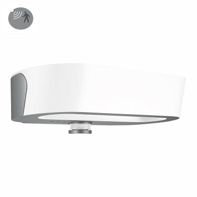 Applique L 710 LED integrato con sensore di movimento, antracite, 8.6W 670LM IP54 STEINEL