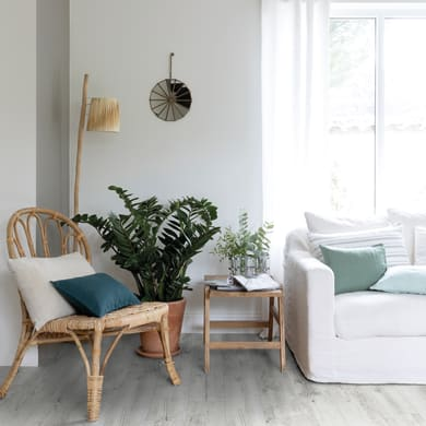 Pavimento PVC flottante clic+ Sensoclic 30 white Sp 4.2 mm bianco
