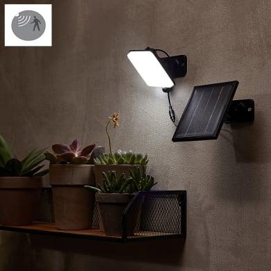 Proiettore solare Avon LED integrato nero 450LM IP44