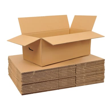Set di 20 pezzi, Scatola da imballaggio 2 onde H 40 x L 80 x P 40 cm