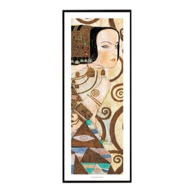 Stampa incorniciata L'Attesa Klimt 20.7x50.7 cm