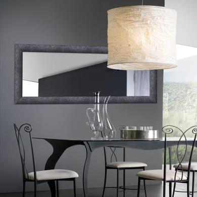 Specchio a parete rettangolare 2080 nero 80x