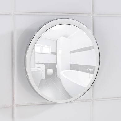 Specchio ingranditore tondo Pistoia L 14.5 x H 14.5 cm Ø 14 cmWenko