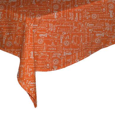 Tovaglia arancione 140x180 cm