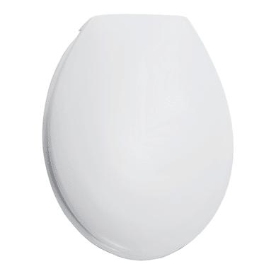 Copriwater ovale Dedicato per serie sanitari Sedile per serie Lake termoindurente bianco