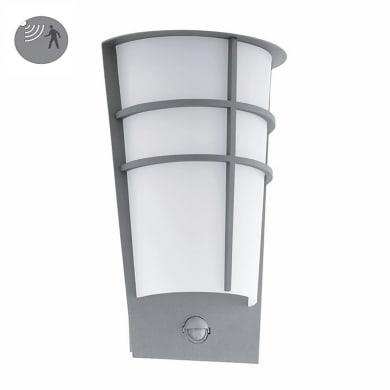 Applique Breganzo LED integrato  in acciaio galvanizzato, grigio, 2.5W 180LM IP44 EGLO