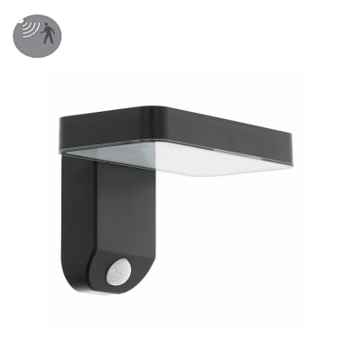 Applique Pastion LED integrato in plastica nero 4.5W 200LM IP20 EGLO