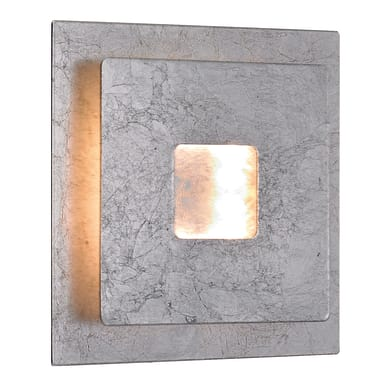 Applique moderno Ennis LED integrato argento, in metallo, ACTION