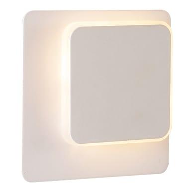 Applique moderno Sutter LED integrato bianco, in metallo, WOFI