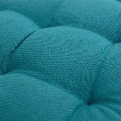 Cuscino per sedia COPRISEDIA SANTORIN blu canard 38x38 cm