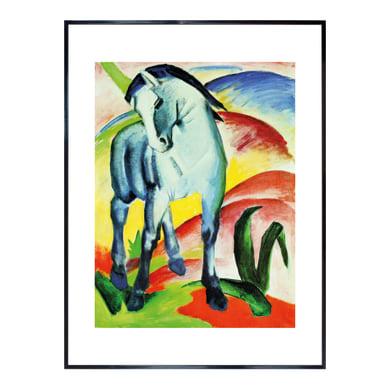 Stampa incorniciata Blaues Pferd I F.Marc 60.7x80.7 cm
