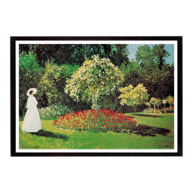 Stampa incorniciata Sign In Giard Monet 70.7x100.7 cm