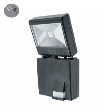 Proiettore solare Cosmo LED integrato nero 80LM IP44