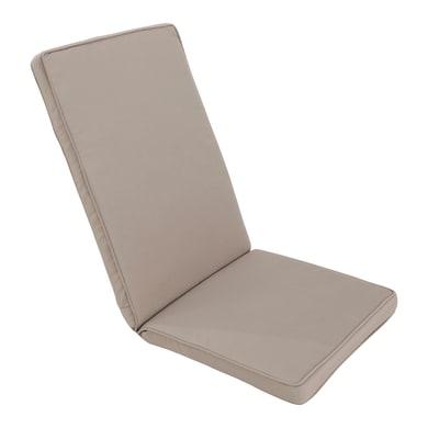 Cuscino per sedia Marjorie taupe 49x120 cm