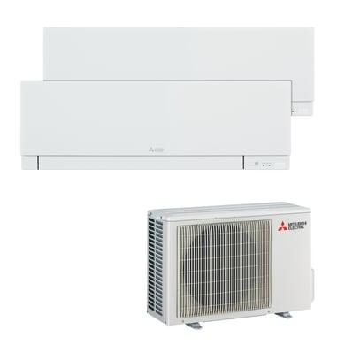 Climatizzatore dualsplit MITSUBISHI Kirigamine 9000 BTU classe A++