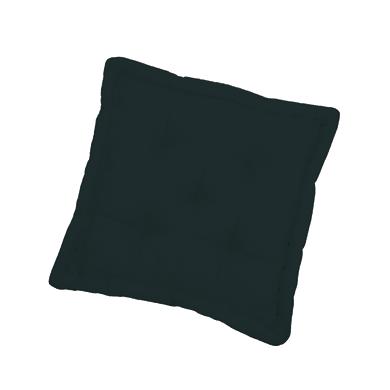 Cuscino da pavimento INSPIRE ELEMA nero 40x40 cm Ø 0 cm