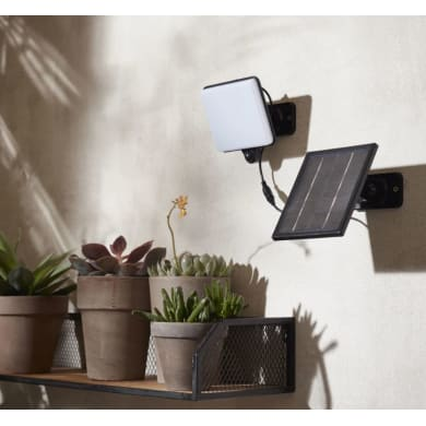 Proiettore solare Avon LED integrato bianco 25W 300LM IP44
