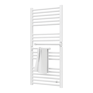 Termoarredo DE'LONGHI Pivot bianco interasse 45 cm , L 50 x H 113.5 cm