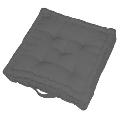 Cuscino da pavimento INSPIRE Elema grigio 60x60 cm Ø 0 cm