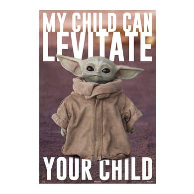 Poster Baby Yoda 61x91.5 cm