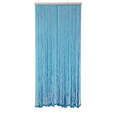 Tenda per porta Rope azzurro 100x220 cm
