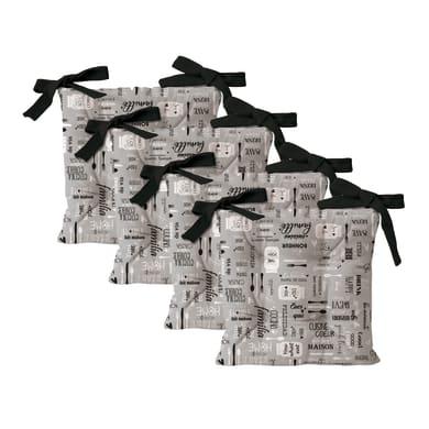 Cuscino per sedia Relax Cousine grigio 40x40 cm