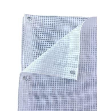 Telo in polietilene occhiellato L 3.5 m x H 300 cm 120 g/m²