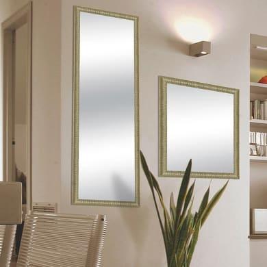 Specchio a parete rettangolare Sibilla oro 59x159 cm