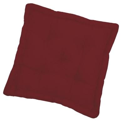 Cuscino da pavimento INSPIRE Elema rosso 40x40 cm Ø 0 cm